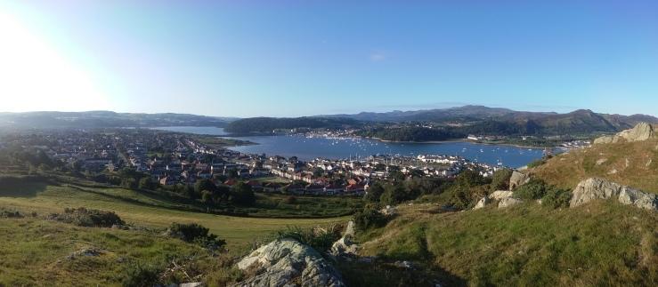 Conwy parkrun sea wales Deganwy Castle