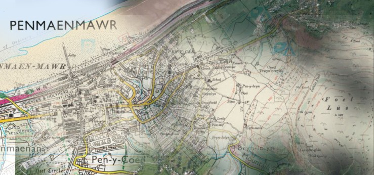 Penmaenmawr different maps times